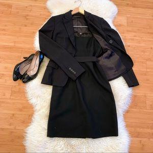 Elie Tahari Luxury Black 3-Piece Suit Set Size 0-2